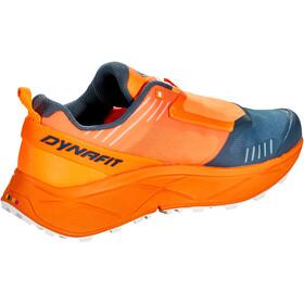 Dynafit Ultra 100 Zapatillas Hombre, naranja/Azul petróleo